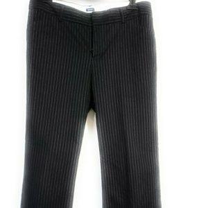 Gap Pinstrip Modern Fit Flare Pants Size 6A
